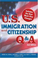 U.S. Immigration and Citizenship Q & A
