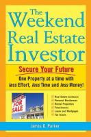 The Weekend Real Estate Investor