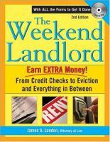 The Weekend Landlord