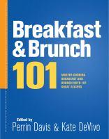 Breakfast & Brunch 101