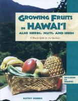 Growing Fruits in Hawaii