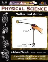 Physical Science: Matter & Motion (Science Action Labs)