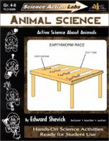 Animal Science: Active Science About Animals (Science Action Labs)
