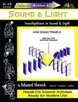 Sound & Light: Investigations in Sound & Light (Science Action Labs)