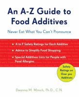 An A-Z Guide to Food Additives