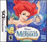 The Little Mermaid. Ariel's undersea adventure [interactive multimedia (video game for Nintendo DS)]
