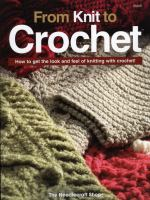 From Knit to Crochet