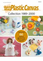 Quick & Easy Plastic Canvas Collection 1989-2000