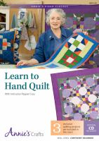 Learn to Hand Quilt