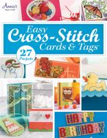 Easy Cross-Stitch Cards and Tags