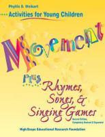 Movement Plus Rhymes, Songs, & Singing Games