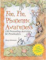 Fee, Fie, Phonemic Awareness