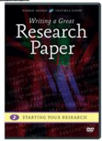 Writing A Great Research Paper