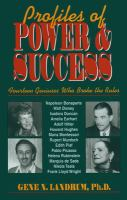 Profiles of Power & Success