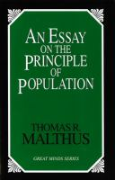 An Essay on the Principle of
