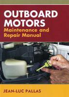 Outboard Motors Maintenance and Repair Manual