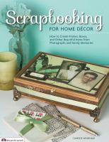 Scrapbooking for Home Décor