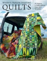Modern Nature-inspired Quilts