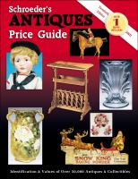 Schroeder's Antiques Price Guide(Older Editions)