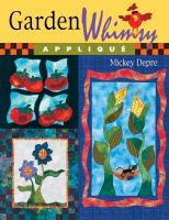 Garden Whimsy Applique