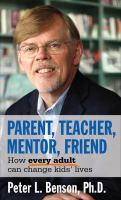 Parent, Teacher, Mentor, Friend