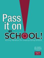 Pass It on at School!