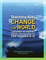 Teaching Kids to Change the World