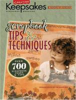 Scrapbook Tips & Techniques