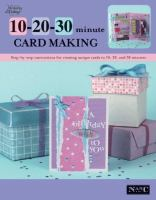 10-20-30 Minute Card Making