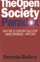 The Open Society Paradox