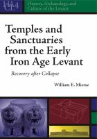 Temples and Sanctuaries From the Early Iron Age Levant