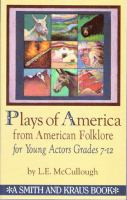 Plays of America From American Folklore for Young Actors