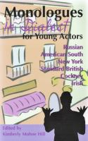 Monologues in Dialect for Young Actors