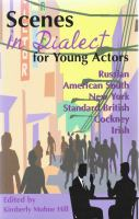 Scenes in Dialect for Young Actors