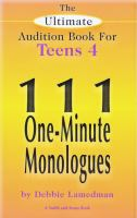 111 One-minute Monologues