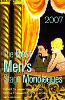 The Best Men's Stage Monologues