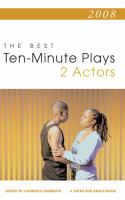 The Best 10-minute Plays for Two Actors, 2008