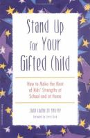 Stand up for your Gifted Child