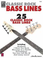 Classic Rock Bass Line
