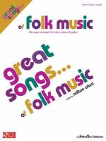 Great Songs-- of Folk Music
