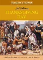 Let's Celebrate Thanksgiving Day