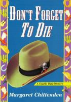 Don't Forget to Die