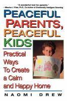 Peaceful Parents, Peaceful Kids