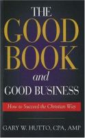 The Good Book and Good Business