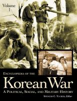 Encyclopedia of the Korean War