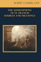 The Admontitions of St. Francis