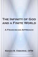 The Infinity of God and A Finite World