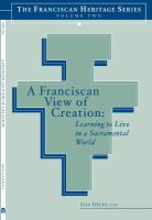 A Franciscan View of Creation