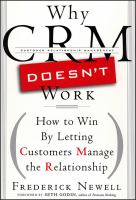 Why CRM Doesn't Work