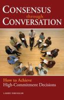 Consensus Through Conversation